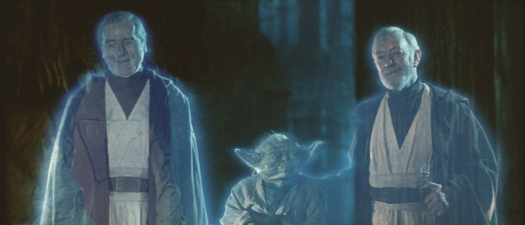 Force Ghosts - Star Wars: Return of the Jedi