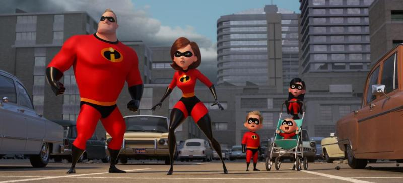 First Look: The Incredibles 2