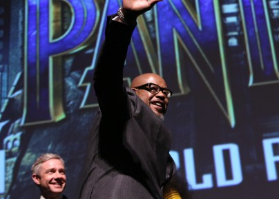 HOLLYWOOD, CA - JANUARY 29: Actor Forest Whitaker at the Los Angeles World Premiere of Marvel Studios' BLACK PANTHER at Dolby Theatre on January 29, 2018 in Hollywood, California. (Photo by Jesse Grant/Getty Images for Disney) *** Local Caption *** Forest Whitaker; Martin Freeman