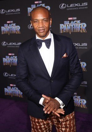 HOLLYWOOD, CA - JANUARY 29: Actor J. August Richards at the Los Angeles World Premiere of Marvel Studios' BLACK PANTHER at Dolby Theatre on January 29, 2018 in Hollywood, California. (Photo by Jesse Grant/Getty Images for Disney) *** Local Caption *** J. August Richards