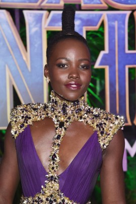 HOLLYWOOD, CA - JANUARY 29: Actor Lupita Nyong'o at the Los Angeles World Premiere of Marvel Studios' BLACK PANTHER at Dolby Theatre on January 29, 2018 in Hollywood, California. (Photo by Alberto E. Rodriguez/Getty Images for Disney) *** Local Caption *** Lupita Nyong'o