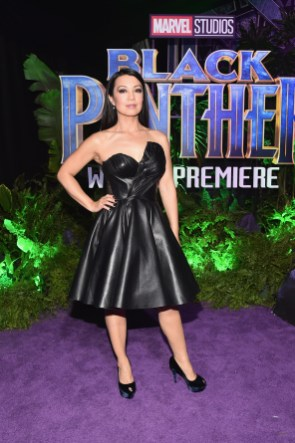 HOLLYWOOD, CA - JANUARY 29: Actor Ming-Na Wen at the Los Angeles World Premiere of Marvel Studios' BLACK PANTHER at Dolby Theatre on January 29, 2018 in Hollywood, California. (Photo by Alberto E. Rodriguez/Getty Images for Disney) *** Local Caption *** Ming-Na Wen
