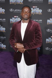HOLLYWOOD, CA - JANUARY 29: Actor Daniel Kaluuya at the Los Angeles World Premiere of Marvel Studios' BLACK PANTHER at Dolby Theatre on January 29, 2018 in Hollywood, California. (Photo by Jesse Grant/Getty Images for Disney) *** Local Caption *** Daniel Kaluuya