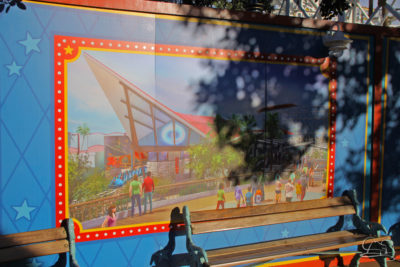 Wall of Change - Incredicoaster Wall in Disney California Adventure