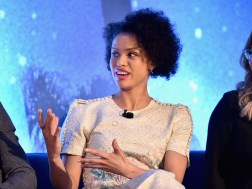 HOLLYWOOD, CA - FEBRUARY 25: Actor Gugu Mbatha-Raw participates in the press conference for Disney's 'A Wrinkle in Time' in Hollywood, CA on March 25, 2018 (Photo by Alberto E. Rodriguez/Getty Images for Disney) *** Local Caption *** Gugu Mbatha-Raw