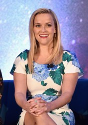 HOLLYWOOD, CA - FEBRUARY 25: Actor Reese Witherspoon participates in the press conference for Disney's 'A Wrinkle in Time' in Hollywood, CA on March 25, 2018 (Photo by Alberto E. Rodriguez/Getty Images for Disney) *** Local Caption *** Reese Witherspoon