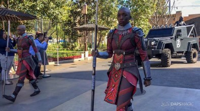 Black Panther Arrival at Disney California Adventure-2