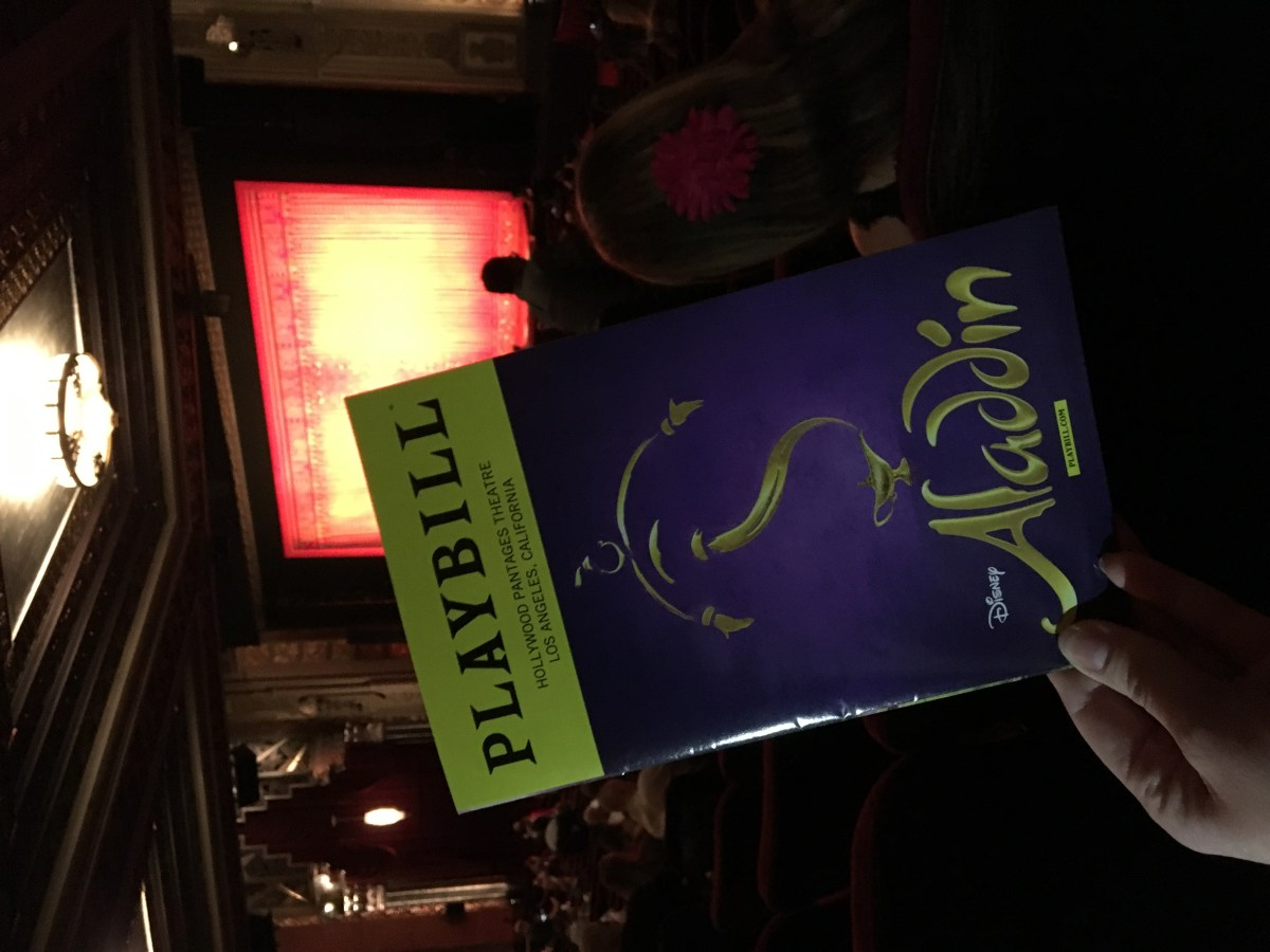 Aladdin - GIVEAWAY + A Review of the Broadway Phenomenon