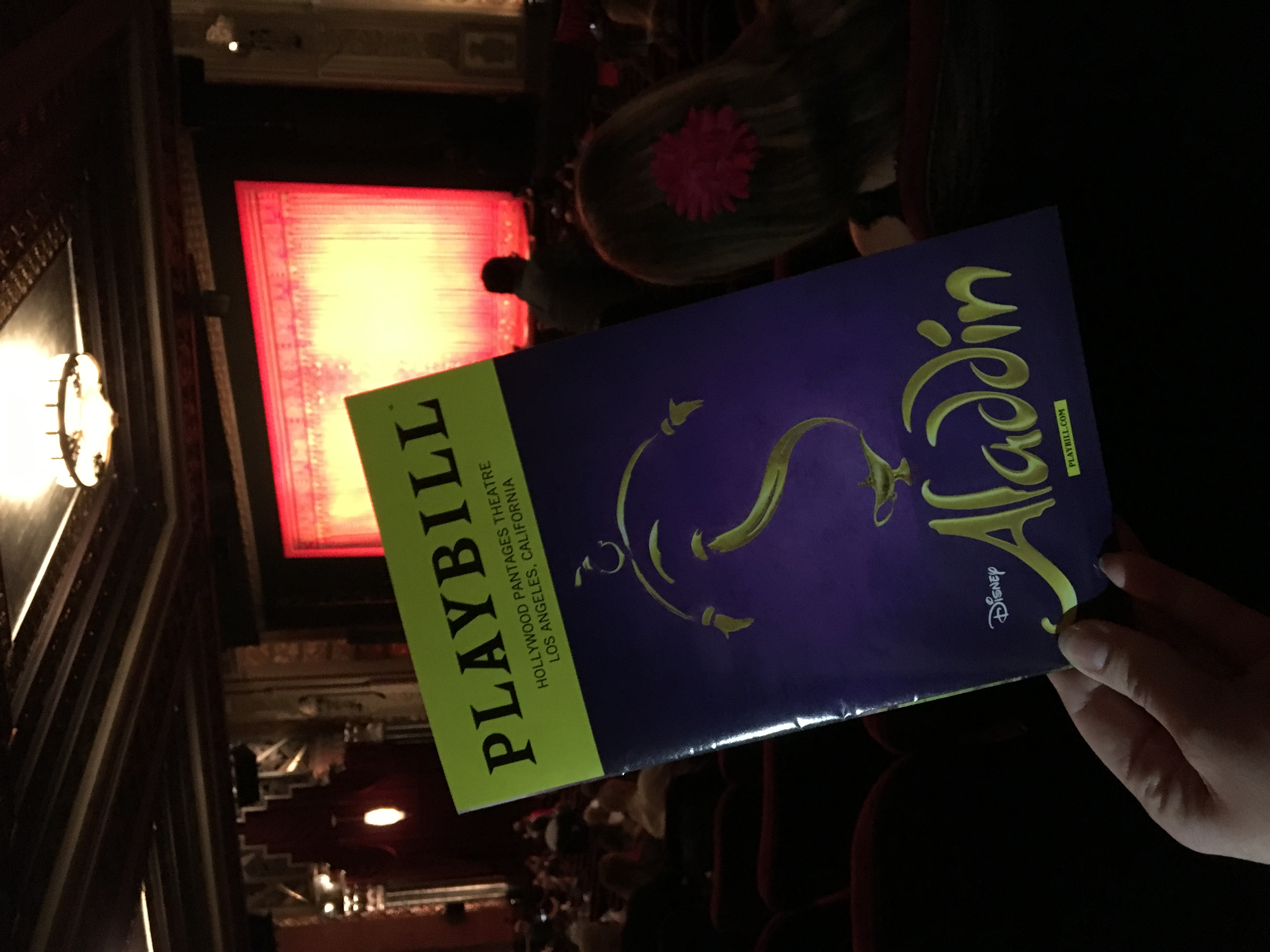 Aladdin – A Review of the Broadway Phenomenon