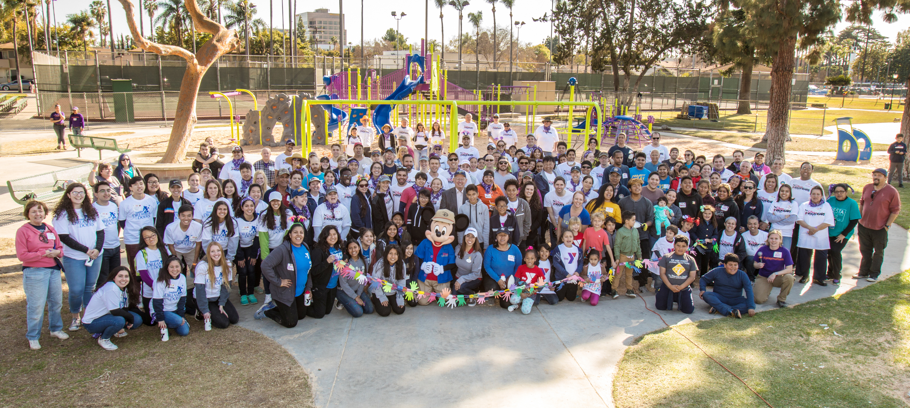 City of Anaheim, Anaheim Family YMCA, Disney and KaBOOM! Partner to Increase Play Opportunities for Anaheim Kids