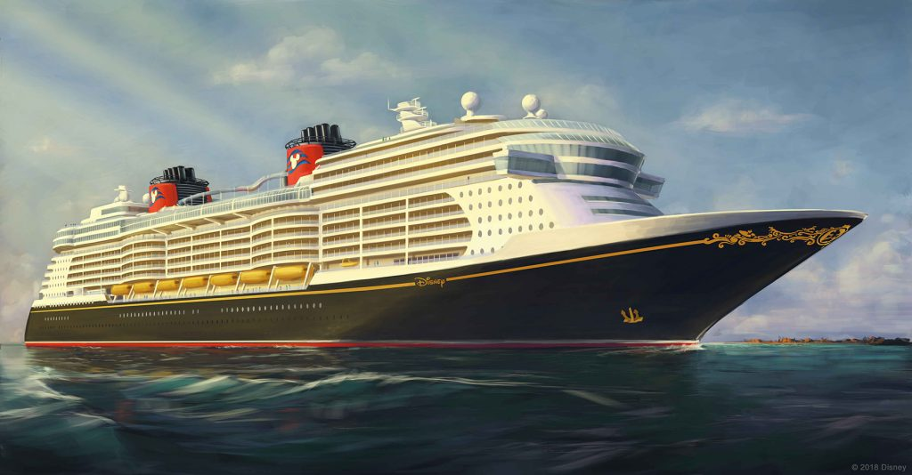 Disney Cruise Line Ship Rendering