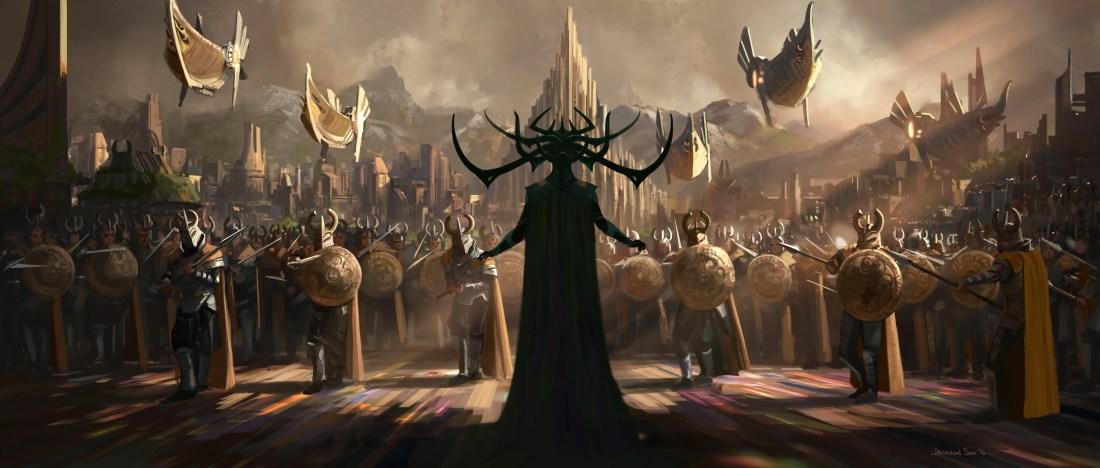 Hela - Thor: Ragnarok