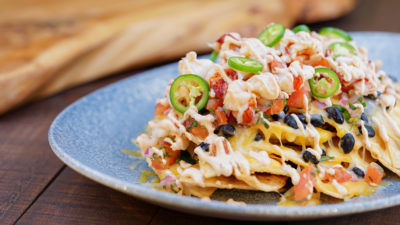 Geek Eats Disney Recipes: Lobster Nachos at Disney California Adventure's Lamplight Lounge