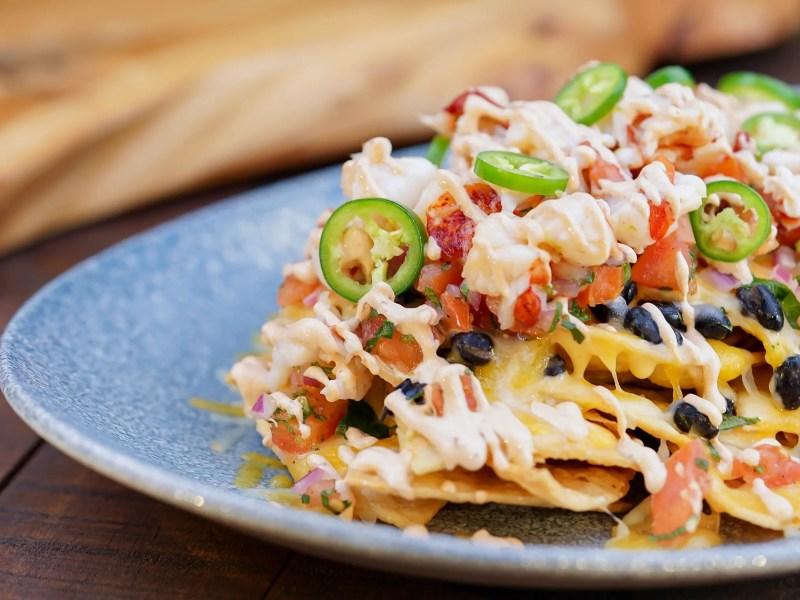 Geek Eats Disney Recipes: Lobster Nachos at Disney California Adventure's Lamplight Lounge