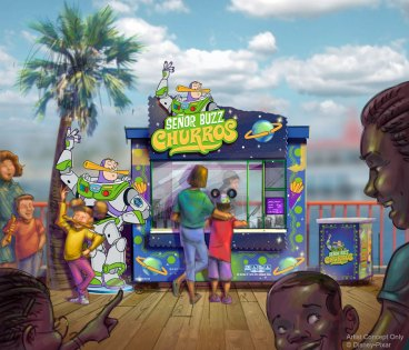 Senor Buzz Churros - Pixar Pier