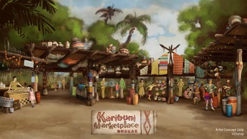Karibuni Marketplace - Hong Kong Disneyland