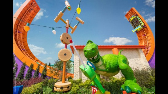 Disney Pixar Toy Story Land at Shanghai Disneyland-8