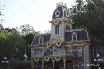 Pixar Fest Decorations at Disneyland Resort