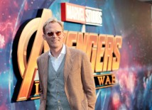 LONDON, ENGLAND - APRIL 08: Paul Bettany attends the UK Fan Event to celebrate the release of Marvel Studios' 'Avengers: Infinity War' at The London Television Centre on April 8, 2018 in London, England.