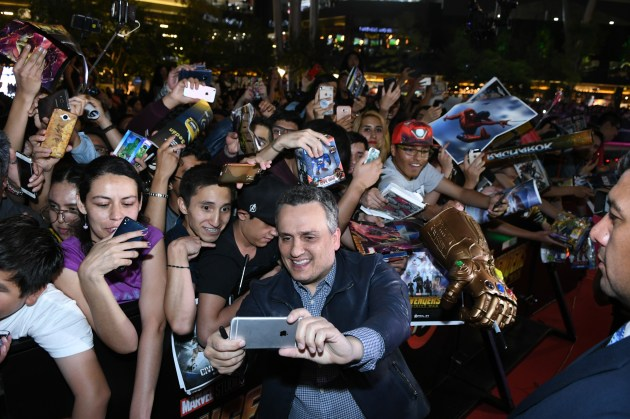 Joe Russo (Director) attend the Avengers: Infinity War fan event in Mexico City.