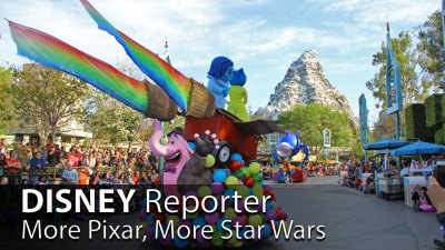 More Pixar, More Star Wars - DISNEY Reporter