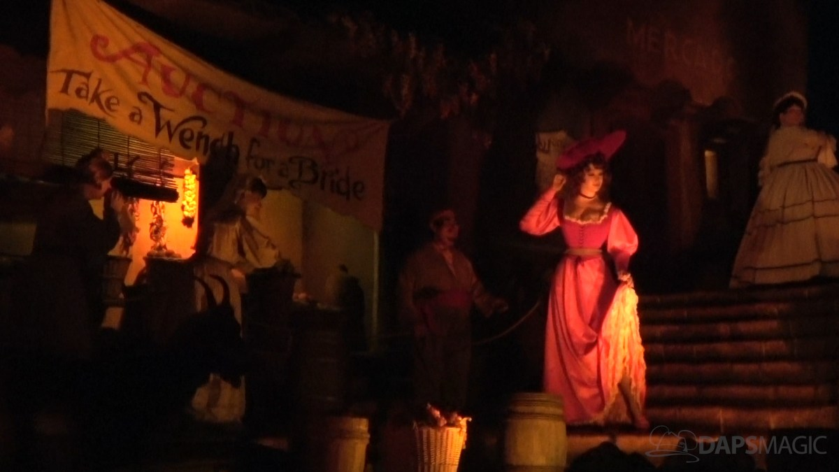 Pirates of the Caribbean Closes at Disneyland for Redheaded Updates!