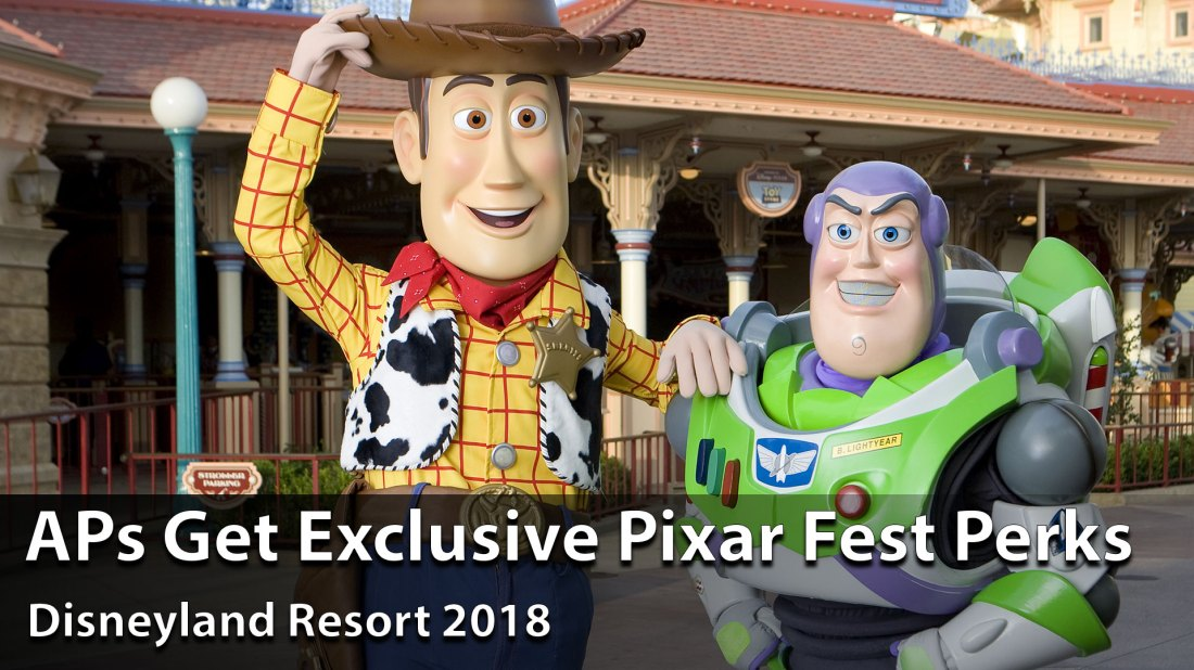 Disneyland Resort to Offer Exclusive Perks to APs During Pixar Fest