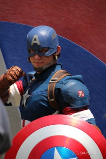 Captain America New Uniform at Disneyland-1