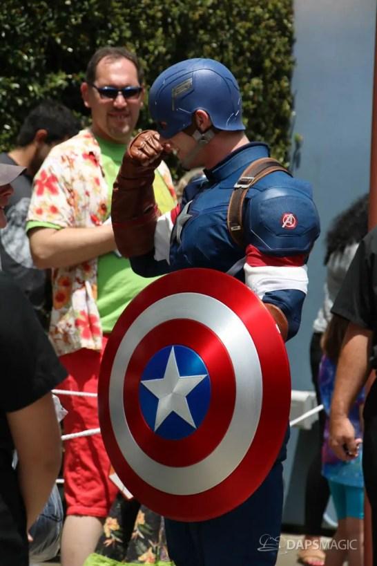 Captain America New Uniform at Disneyland-3