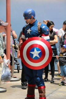 Captain America New Uniform at Disneyland-4