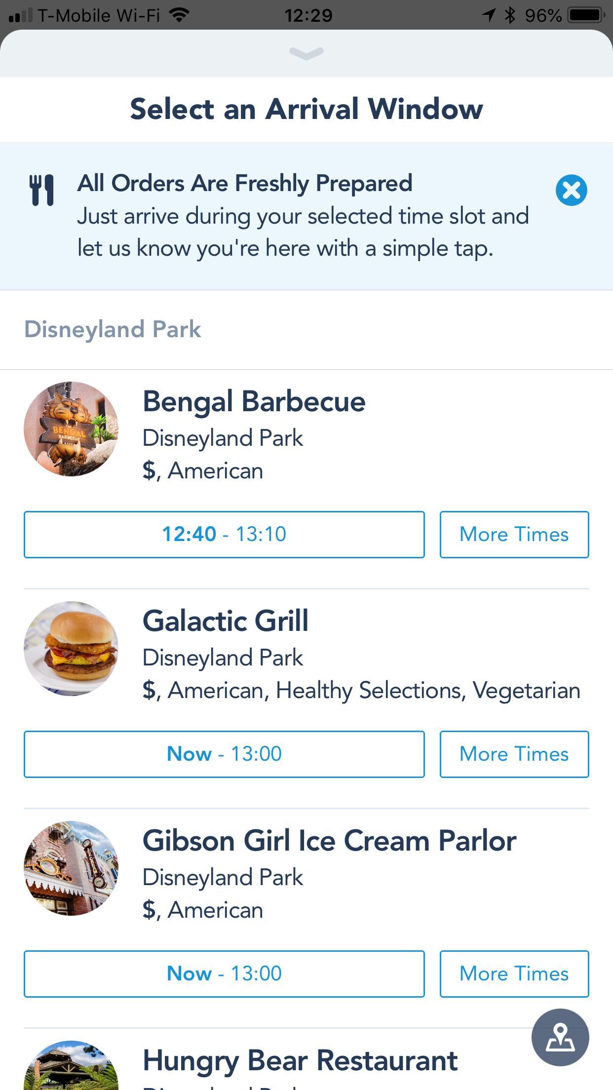 Satisfy Your Hunger with Mobile Ordering at the Disneyland Resort Starting Today