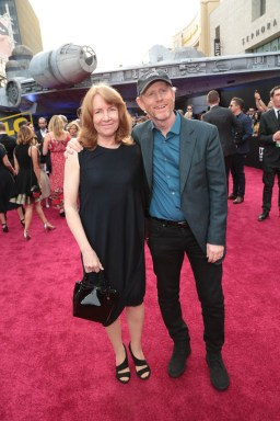 "Cheryl Howard and Ron Howard attend the world premiere of ""Solo: A Star Wars Story"" in Hollywood on May 10, 2018. (Photo: Alex J. Berliner/ABImages)"