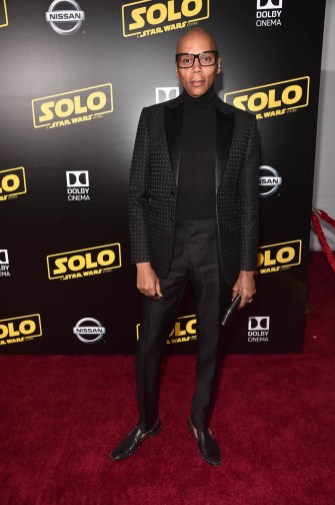 HOLLYWOOD, CA - MAY 10: RuPaul attends the world premiere of ìSolo: A Star Wars Storyî in Hollywood on May 10, 2018. (Photo by Alberto E. Rodriguez/Getty Images for Disney) *** Local Caption *** RuPaul