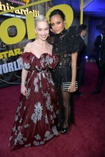 HOLLYWOOD, CA - MAY 10: Actors Emilia Clarke (L) and Thandie Newton attend the world premiere of ìSolo: A Star Wars Storyî in Hollywood on May 10, 2018. (Photo by Charley Gallay/Getty Images for Disney) *** Local Caption *** Emilia Clarke; Thandie Newton