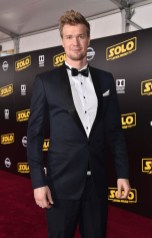 HOLLYWOOD, CA - MAY 10: Actor Joonas Suotamo attends the world premiere of ìSolo: A Star Wars Storyî in Hollywood on May 10, 2018. (Photo by Alberto E. Rodriguez/Getty Images for Disney) *** Local Caption *** Joonas Suotamo