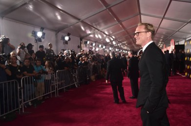 HOLLYWOOD, CA - MAY 10: Actor Paul Bettany attends the world premiere of ìSolo: A Star Wars Storyî in Hollywood on May 10, 2018. (Photo by Alberto E. Rodriguez/Getty Images for Disney) *** Local Caption *** Paul Bettany