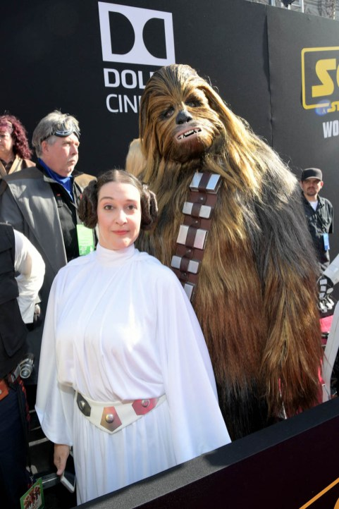 HOLLYWOOD, CA - MAY 10: View of atmopshere at the world premiere of ìSolo: A Star Wars Storyî in Hollywood on May 10, 2018. (Photo by Charley Gallay/Getty Images for Disney)