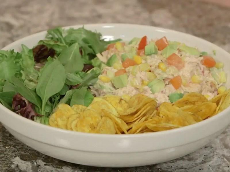 Geek Eats Disney Recipes: Chicken & Avocado Salad