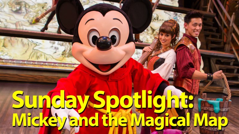 Sunday Spotlight: Mickey and Magical Map