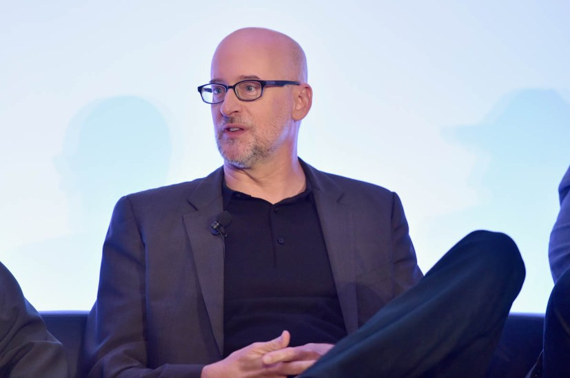 """LOS ANGELES, CA - JUNE 24: Peyton Reed speaks onstage at Marvel Studios' """"Ant-Man And The Wasp"""" Global Junket Press Conference on June 24, 2018 in Los Angeles, United States. (Photo by Alberto E. Rodriguez/Getty Images for Disney) *** Local Caption *** Peyton Reed"""