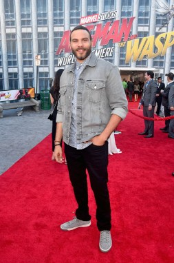 "HOLLYWOOD, CA - JUNE 25: Ian Verdun attends the Los Angeles Global Premiere for Marvel Studios' ""Ant-Man And The Wasp"" at the El Capitan Theatre on June 25, 2018 in Hollywood, California. (Photo by Alberto E. Rodriguez/Getty Images for Disney) *** Local Caption *** Ian Verdun"