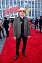 "HOLLYWOOD, CA - JUNE 25: Michael Rooker attends the Los Angeles Global Premiere for Marvel Studios' ""Ant-Man And The Wasp"" at the El Capitan Theatre on June 25, 2018 in Hollywood, California. (Photo by Alberto E. Rodriguez/Getty Images for Disney) *** Local Caption *** Michael Rooker"