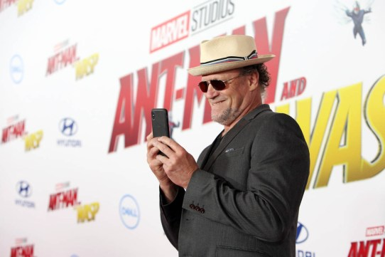 """HOLLYWOOD, CA - JUNE 25: Michael Rooker attends the Los Angeles Global Premiere for Marvel Studios' """"Ant-Man And The Wasp"""" at the El Capitan Theatre on June 25, 2018 in Hollywood, California. (Photo by Jesse Grant/Getty Images for Disney) *** Local Caption *** Michael Rooker"""