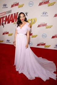 """HOLLYWOOD, CA - JUNE 25: Actor Hannah John-Kamen attends the Los Angeles Global Premiere for Marvel Studios' """"Ant-Man And The Wasp"""" at the El Capitan Theatre on June 25, 2018 in Hollywood, California. (Photo by Jesse Grant/Getty Images for Disney) *** Local Caption *** Hannah John-Kamen"""