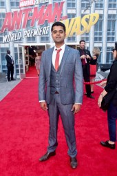 "HOLLYWOOD, CA - JUNE 25: Actor Divian Ladwa attends the Los Angeles Global Premiere for Marvel Studios' ""Ant-Man And The Wasp"" at the El Capitan Theatre on June 25, 2018 in Hollywood, California. (Photo by Alberto E. Rodriguez/Getty Images for Disney) *** Local Caption *** Divian Ladwa"