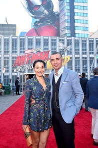 """HOLLYWOOD, CA - JUNE 25: Shaun Toub (R) and Lorena Toub attend the Los Angeles Global Premiere for Marvel Studios' """"Ant-Man And The Wasp"""" at the El Capitan Theatre on June 25, 2018 in Hollywood, California. (Photo by Alberto E. Rodriguez/Getty Images for Disney) *** Local Caption *** Shaun Toub; Lorena Toub"""