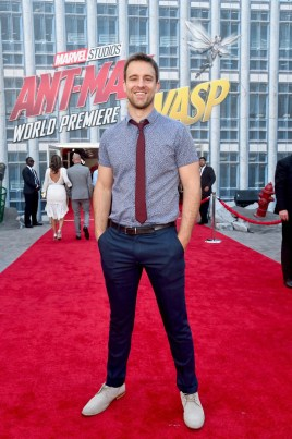 "HOLLYWOOD, CA - JUNE 25: Sean Kleier attends the Los Angeles Global Premiere for Marvel Studios' ""Ant-Man And The Wasp"" at the El Capitan Theatre on June 25, 2018 in Hollywood, California. (Photo by Alberto E. Rodriguez/Getty Images for Disney) *** Local Caption *** Sean Kleier"