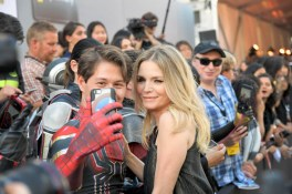 """HOLLYWOOD, CA - JUNE 25: Actor Michelle Pfeiffer attends the Los Angeles Global Premiere for Marvel Studios' """"Ant-Man And The Wasp"""" at the El Capitan Theatre on June 25, 2018 in Hollywood, California. (Photo by Charley Gallay/Getty Images for Disney) *** Local Caption *** Michelle Pfeiffer"""