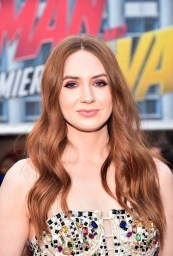 "HOLLYWOOD, CA - JUNE 25: Karen Gillan attends the Los Angeles Global Premiere for Marvel Studios' ""Ant-Man And The Wasp"" at the El Capitan Theatre on June 25, 2018 in Hollywood, California. (Photo by Alberto E. Rodriguez/Getty Images for Disney) *** Local Caption *** Karen Gillan"