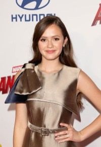 """HOLLYWOOD, CA - JUNE 25: Olivia Sanabia attends the Los Angeles Global Premiere for Marvel Studios' """"Ant-Man And The Wasp"""" at the El Capitan Theatre on June 25, 2018 in Hollywood, California. (Photo by Jesse Grant/Getty Images for Disney) *** Local Caption *** Olivia Sanabia"""